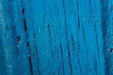 soñar con color azul