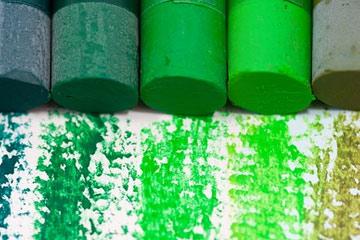 soñar con color verde