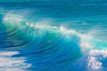 sonar con mar azul