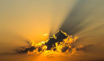 Soñar con rayos solares